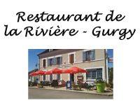 restaurant de la rivière à Gurgy